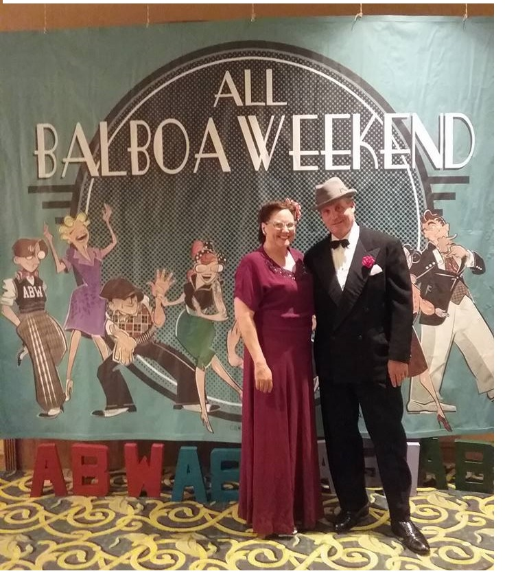 Mike & Mary at ABW 2017; Mary won the best dressed contest!