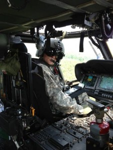 Our son Mike, currently serving as a Blackhawk helicopter pilot in the U.S. Army.