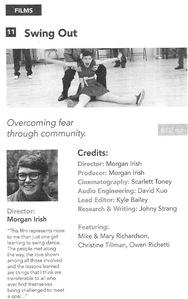 Highbridge Film Festival program page